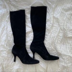 Stuart Weitzman suede boots sz8